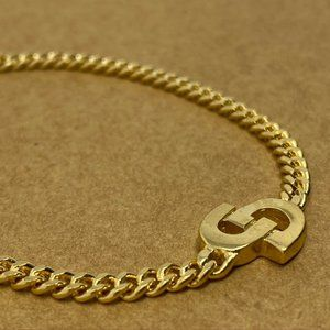 Authentic Vintage Christian Dior Monogram Bracelet
